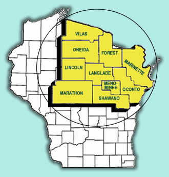Draeger Propane offers Northeastern Wisconsin with Propane